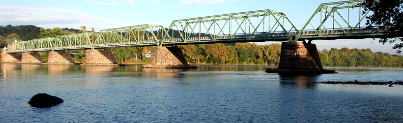 Delaware River Bridge at Frenchtown